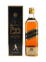 Johnnie Walker Black Label Bottled 1980s 75cl / 40%
