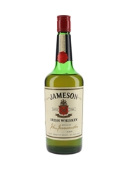 Jameson Irish Whiskey Bottled 1970s 75.7cl / 40%