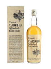 Cardhu 12 Year Old Bottled 1970s 100cl / 40%