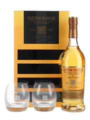 Glenmorangie 10 Year Old Glasses Pack  70cl / 40%