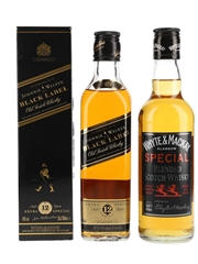 Johnnie Walker Black Label 12 Year Old & Whyte & Mackay Special  2 x 35cl / 40%