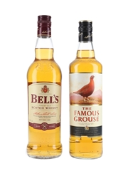 Bell's 8 Year Old & Famous Grouse  2 x 70cl / 40%