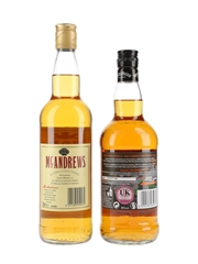 McAndrews And Whyte & Mackay  2 x 70cl / 40%