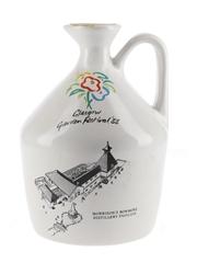 Bowmore 15 Year Old Ceramic Decanter Glasgow Garden Festival 1988 75cl / 40%