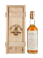 Macallan 1965 25 Year Old Anniversary Malt