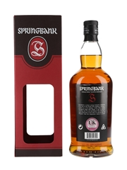 Springbank 12 Year Old Cask Strength Bottled 2020 70cl / 56.1%