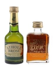 Atholl Brose & Stag's Breath Liqueur