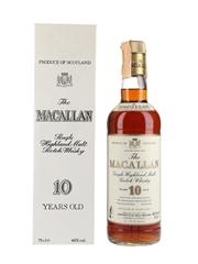 Macallan 10 Year Old