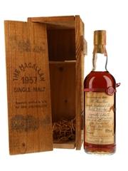 Macallan 1957 Handwritten Label Bottled 1982 - Rinaldi 25th Anniversary 75cl / 43%