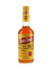 Early Times 4 Year Old Bottled 1970s - Percy Fox 70cl / 40%