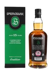 Springbank 15 Year Old Bottled 2021 70cl / 46%