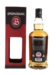 Springbank 12 Year Old Cask Strength Bottled 2021 70cl / 55.4%