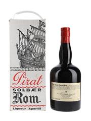 Pirat Solbaer Rom Bottled 1960s - Black Currant Rum 72cl / 25%