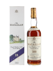 Macallan 1968 18 Year Old Bottled 1988 - Giovinetti 75cl / 43%