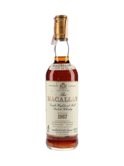 Macallan 1967 18 Year Old Bottled 1980s - Giovinetti 75cl / 43%