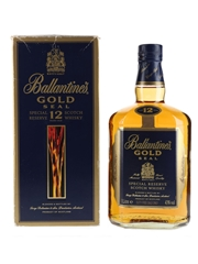 Ballantine's Gold Seal 12 Year Old Bottled 1990s 100cl / 43%