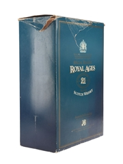 Royal Ages 21 Year Old Bottled 1980s - Justerini & Brooks 75cl / 43%