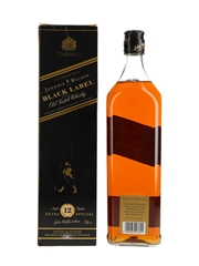 Johnnie Walker Black Label 12 Year Old Duty Free 100cl / 43%