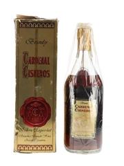 Cardenal Cisneros Brandy Bottled 1980s - Sanchez Romate 75cl / 40%