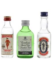 Beefeater, Gordon's & Plymouth Gin