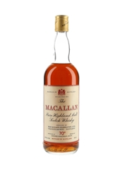Macallan 70 Proof (Vintage Unknown) Bottled 1970s - Gordon & MacPhail 75cl / 40%