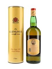 Glenlivet 12 Year Old Bottled 1980s 100cl / 43%