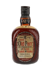 Grand Old Parr 12 Year Old De Luxe Bottled 1980s 75cl / 43%