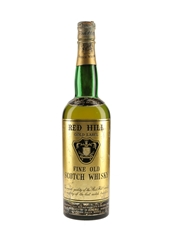 Red Hill Gold Label Bottled 1950s-1960s - Buton 75cl / 43%