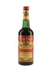 Buton Elixir Di China Bottled 1950s 75cl / 30%