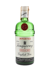 Tanqueray Special Dry Gin Bottled 1980s - Wax & Vitale 75cl / 43%