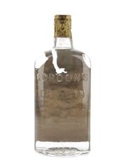 Gordon's Dry Gin Spring Cap Bottled 1950s - U.S. Navy Mess 75cl