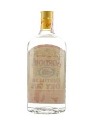 Gordon's Dry Gin Bottled 1980s 100cl / 43%