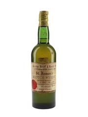 Berry Bros & Rudd St James's Scotch Whisky Bottled 1960s 75.7cl / 40%