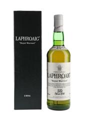 Laphroaig Royal Warrant 10 Year Old Bottled 1994 70cl / 40%