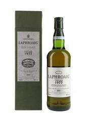 Laphroaig 1977 Bottled 1995 75cl / 43%