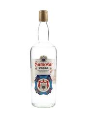 Samovar Dry Vodka Bottled 1970s - Duty Free 100cl