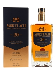 Mortlach 20 Year Old Cowie's Blue Seal Travel Retail Exclusive 70cl / 43.4%