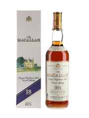 Macallan 1974 18 Year Old