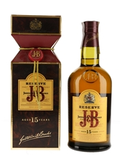 J & B 15 Year Old Reserve  70cl / 40%