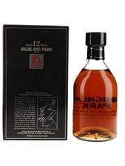 Highland Park 12 Year Old Bottled 1980s 75cl / 43%