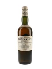 Buchanan's Black & White Spring Cap Bottled 1960s 75.7cl / 40%