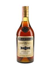 Martell 3 Star VS Bottled 1970s - Spirit 70cl / 40%