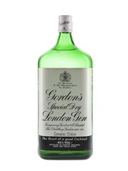 Gordon's Special Dry London Gin Bottled 1980s - Large Format 150cl / 40%