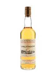 Linlithgow 1982 Cask Strength Cadenhead's White Label 70cl / 64.3%