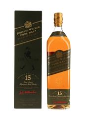 Johnnie Walker 15 Year Old Pure Malt Green Label Bottled 1990s 100cl / 43%