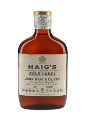Haig's Gold Label Spring Cap Bottled 1960s 20cl / 40%
