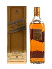 Johnnie Walker Gold Label 18 Year Old Bottled 1990s 70cl / 43%