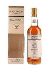 Millburn 1976 Connoisseurs Choice Bottled 2002 - Gordon & MacPhail 70cl / 40%