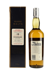 Rosebank 1979 19 Year Old Bottled 1998 - Rare Malts Selection 75cl / 60.2%