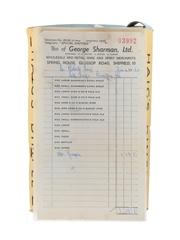 Haig's Dimple Spring Cap Bottled 1950s - With Original Receipt 75cl / 40%